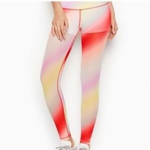 VS Pink Cali Haze Ombre Knockout Leggings Small